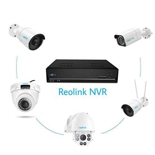 Reolink Poe Nvr 8 Channel 2tb Hard Drive 4mp Hd Ip Home Security Camera System Ou Home Security Camera Systems Security Cameras For Home Security Camera System