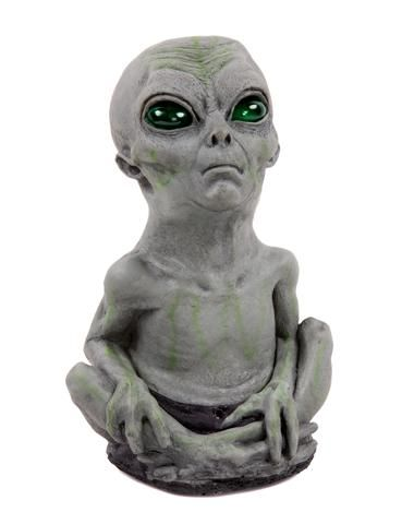 alien baby only at spirit halloween deck out your out of this world haunted house with an otherworldly alien baby decoration creepy prop feature - Spirit Halloween Decorations