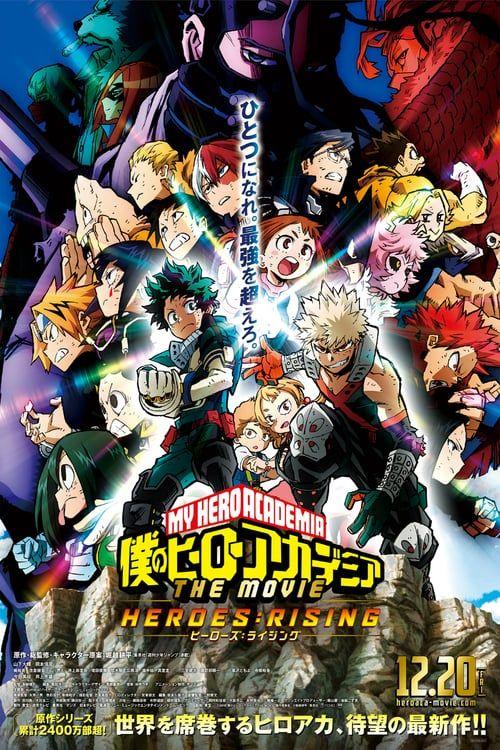 Mega Hd My Hero Academia Heroes Rising 2019 Pelicula Completa