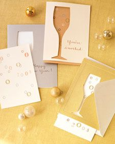 We're sharing our favorite clip art and templates for a perfect New Year's celebration.