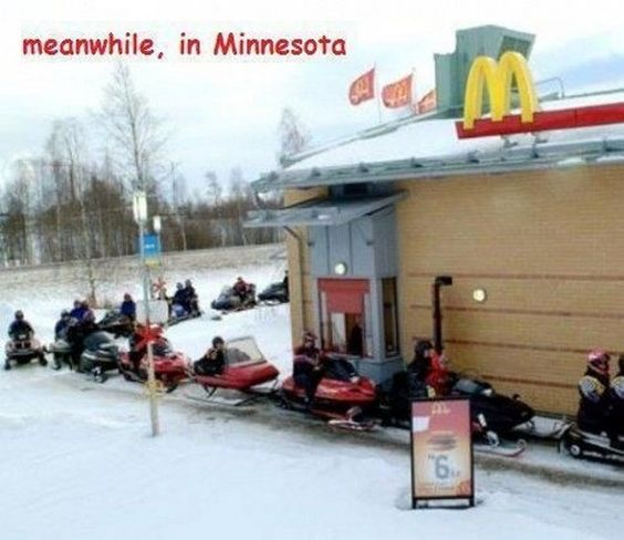Meanwhile In Minnesota...get ready, the way it sounds it could be coming!: