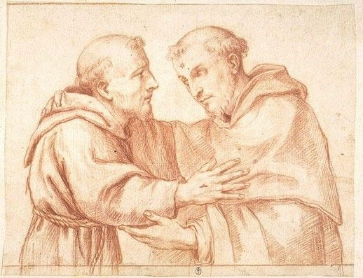 Saint Dominique de Guzman, premier Cordigère de saint François