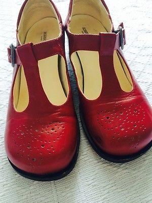 rote Mary-Jane-Damenschuhe von John W. Shoes, Gr. 38   eBay