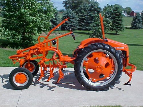 Allis Chalmers G Tractor : Models and videos on pinterest