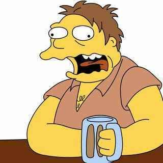 Alcohol Para Estar Calido Borrachos Chistes Borrachos Personajes De Los Simpsons