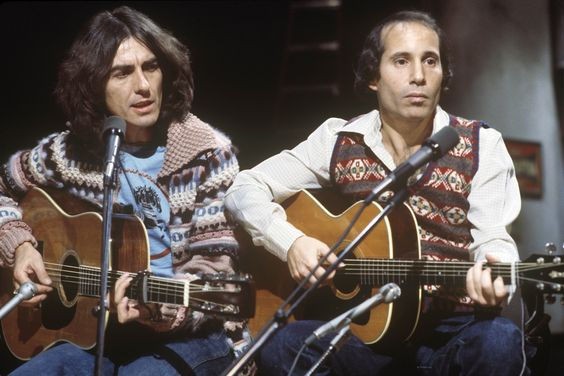 "Paul Simon Takes SNL By Storm With Unforgettable George Harrison Duet, ""Homeward Bound"" 