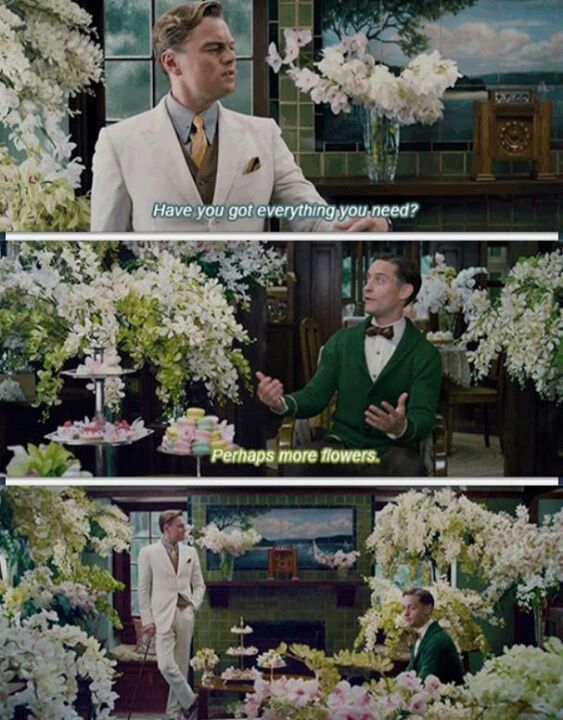 Can we consider Gatsby's love to Daisy blind?
