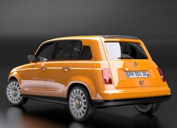 """Renault 4 concept El """"4 Latas"""" salió de esto"""