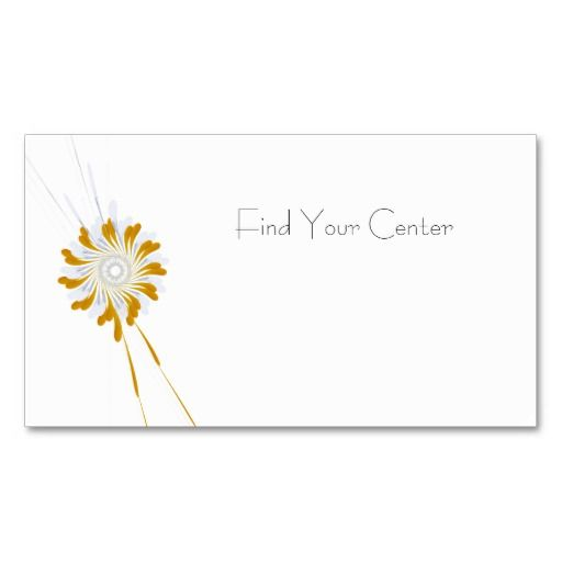 Find Your Center Appointment Card Appointments Business Cards - Appointment business card template