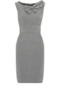 Womens Gray Dress Photo Album - Reikian