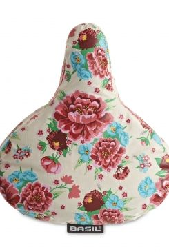 BEG Basil Bloom Saddle Cover, vintage Dutch bicycles from BEG -- possibly