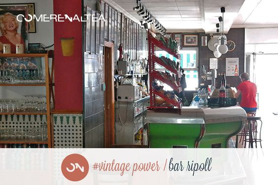 Vintage Power • Bar Ripoll • Altea la Vella #Altea #restaurante #mediterraneo #comer_en_altea