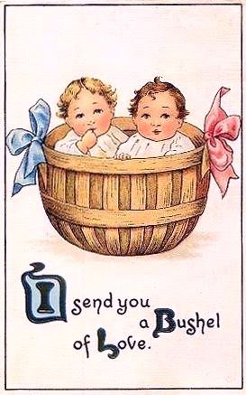 I send you a Bushel of Love.