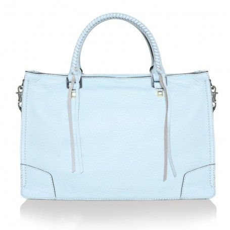 Rebecca Minkoff Tasche – Regan Satchel Bleached Blue – in blau – Henkeltasche für Damen