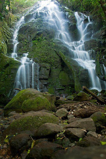 catarata en el Parque Nacional Rincón de La Vieja!!