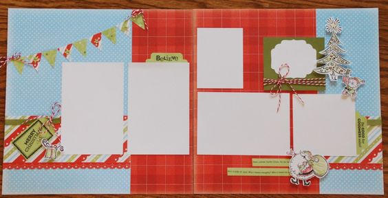 love this layout from Fancy Melissa's Fast n Fancy Scrapbooking Club