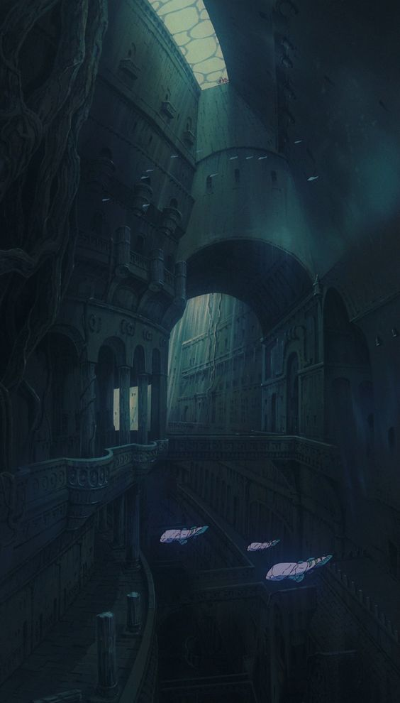 Laputa: Castle in the Sky (1986) #miyazaki #ghibli #anime #cel #天空の城ラピュタ