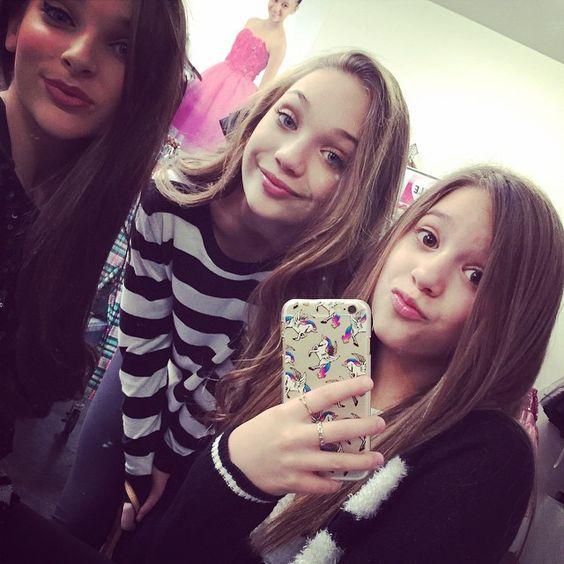 ... girls so much! Kendall Vertes, Maddie Ziegler, and Mackenzie Ziegler