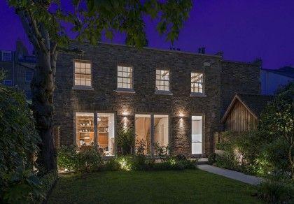 Утонченный дизайн дома в Лондоне