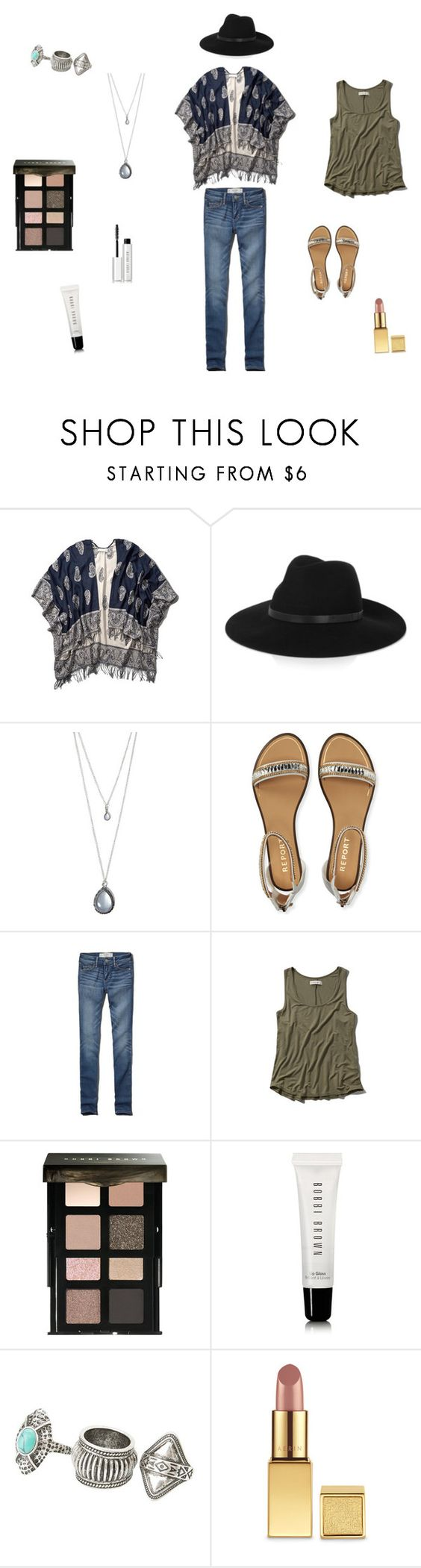 """""""AriaM. Fashion"""" by lydiamart ❤ liked on Polyvore featuring Abercrombie & Fitch, By Malene Birger, Forever 21, Aéropostale, Bobbi Brown Cosmetics, MANGO and AERIN"""