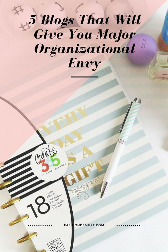 5 blogs that will give you organizational envy