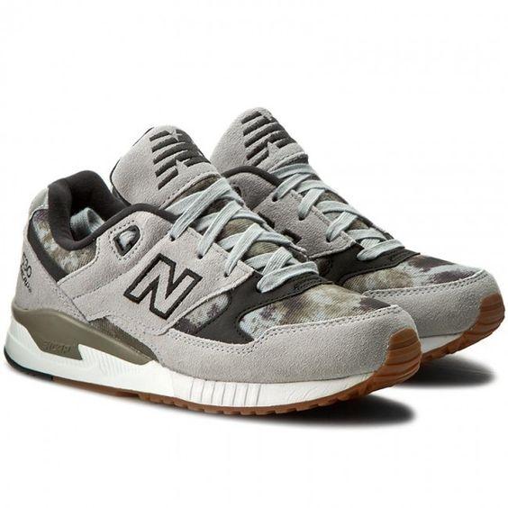 Sneakersy New Balance W530bnb Kolorowy Szary New Balance Sneaker Shoes Sneakers