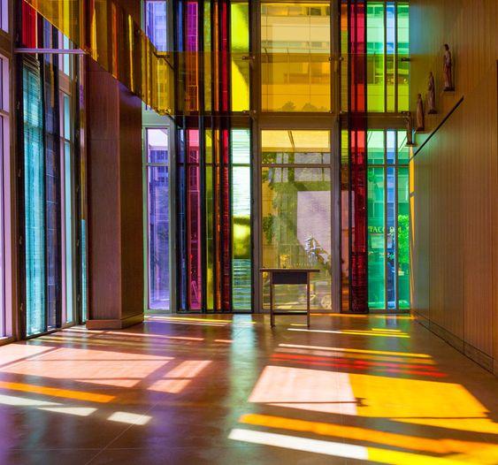 olson kundig architects flood gethsemane church in color