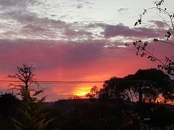 Sunset, Glen Innes, 16-5-2016