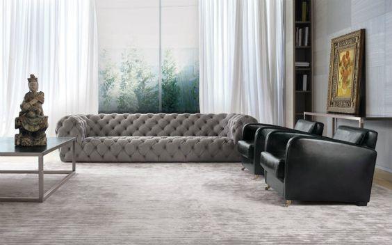 家具 ブランド インテリア メーカー ソファ イタリア バクスター チェスタームーン クラシック モダン