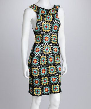 Granny Square Dress - Makes me think of my Gramdma.  I have an afghan that look just like this.Luv2Luv | Daily deals for moms, babies and kids