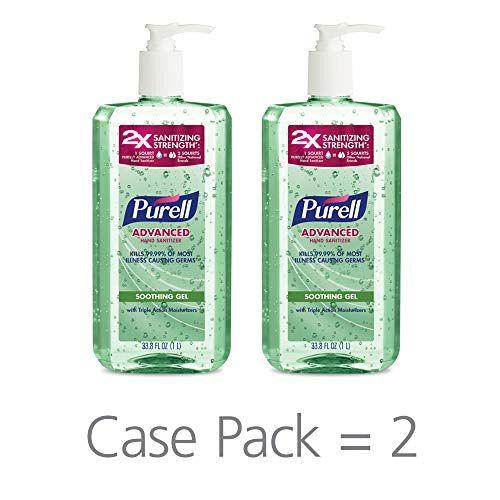 Amazon Com Purell Hand Sanitizer Advanced Travel Sized Jelly