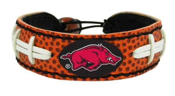 Arkansas Razorbacks Football Bracelet