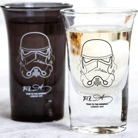 Original Stormtrooper Shot Glasses Shot Glasses Star Wars Decor