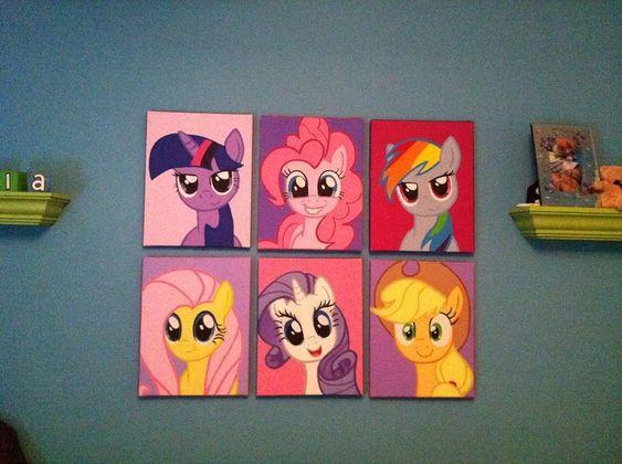 room girl room my little pony girls room my little pony room decor my