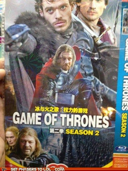 Game of Thrones Season Two DVD: Seems Legit.