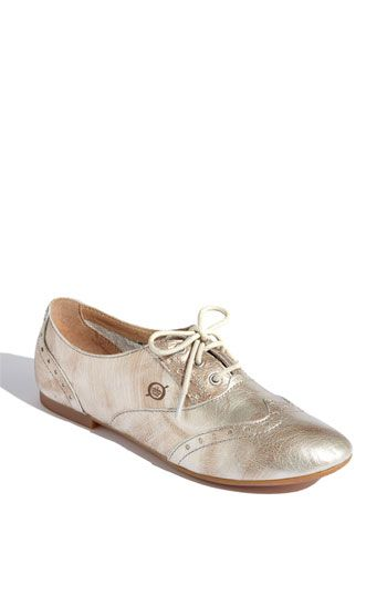 Oh I cannot get enough of these! Born Ibis Oxford, $94.95 @Nordstrom