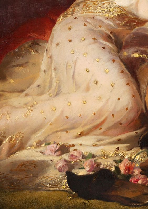 edwin landseer, detail from A Midsummer night's dream, 1851.
