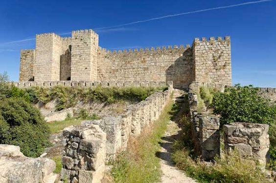 Castillos medievales de España - Castillo de Trujllo