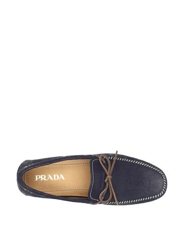 40% OFF PRADA Men's Moccasin (Bleu)