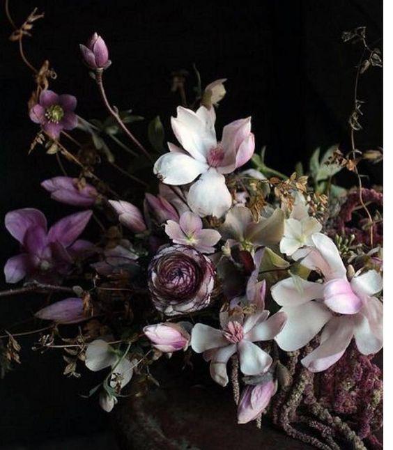 @mag.giesheph.erd   Magnolias from Aiala Hernandez   @aialahernando   #magnolias #springtime #pink #flora #flowershop #garden #wildflowers #petals nature #botany #botanical #study #love  #arrangement #display #wildlife #luxury #wedding