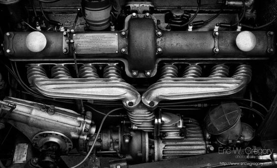 Alfa Romeo 8C Motor by Eric Gregory on 500px
