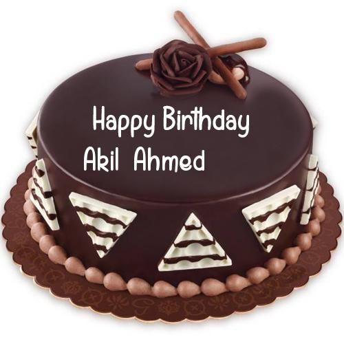 Sensational Create Name Birthday Cake Chocolate Cake Status Pics My Name Pix Funny Birthday Cards Online Kookostrdamsfinfo
