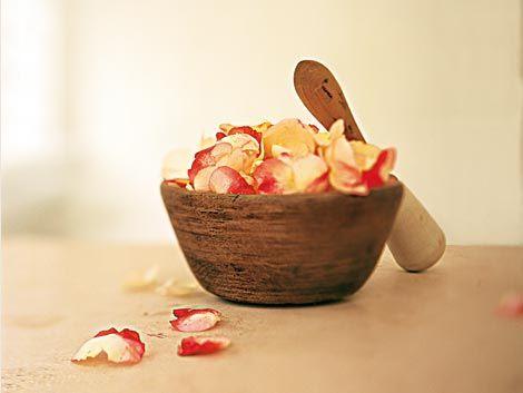 Parfüm aus Rosenblättern umwehte schon Kleopatra. Heute erfrischen uns die Extrakte als Gesichtswasser, das Öl pflegt die Haut besonders sanft. Und mit ein paar Blüten im Badewasser kommt das Kleopatra-Gefühl garantiert von ganz allein ...