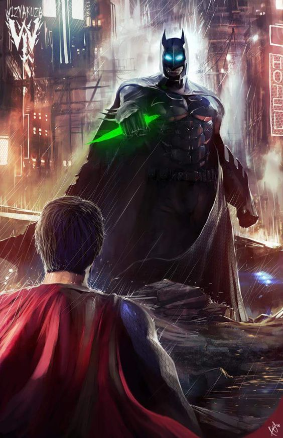 You're Just a Man!!! #SUPERMAN #ANGELJACKETS #BATMAN
