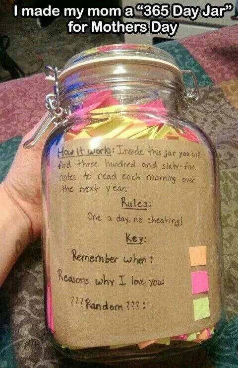 She S Relationship You For Longer Than Each Of Your Superior Gift Giving Capabilities But This Doesn T Me Christmas Gifts For Mum Jar Gifts Diy Gifts In A Jar
