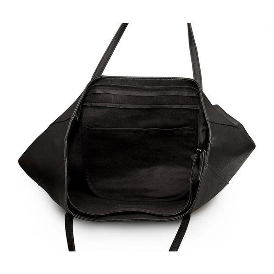Limited Edition Black On Black Bandana Skull Embossed Tote - Web Exclusive