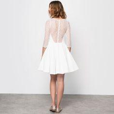 petite robe de marie civile et courte mademoiselle r la redoute blog mariage la - La Redoute Mariage