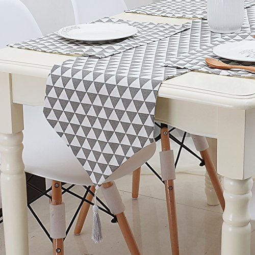 24 Best Table Runners Place Mats Kitchen Dining Tips Table Runner And Placemats Table Runners Chic Table Runner