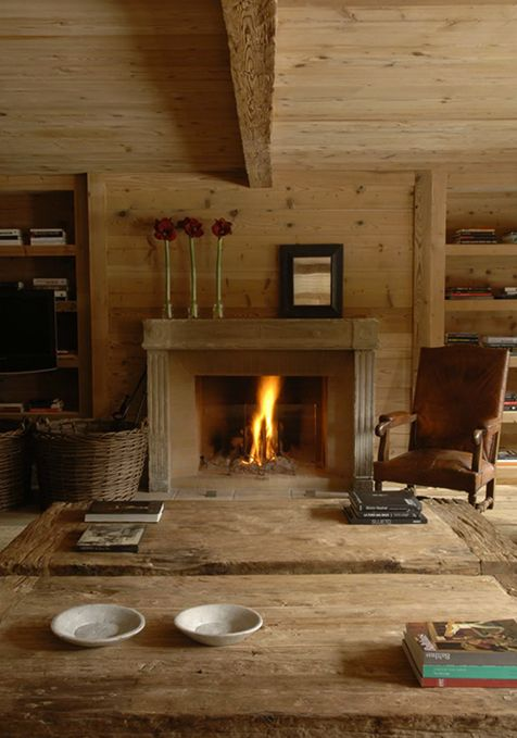 Chalet - love chunky wooden furniture isabel lopez quesada, Casa Gstaad