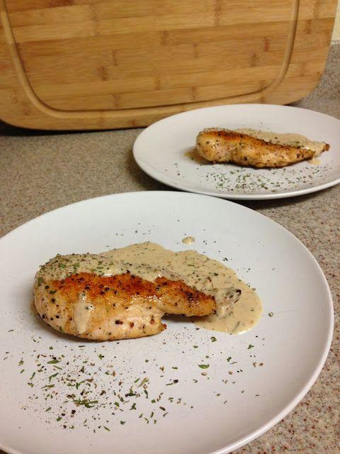 Seared Chicken with Tarragon Cream Sauce